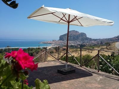 Photo for Pergola House in Cefalu with garden and parking