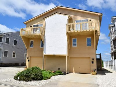 Photo for Beautiful Beach front townhome. Close to shopping and playground!