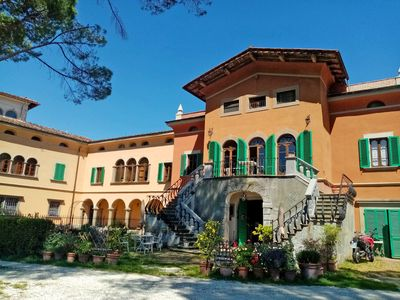 Photo for Art, nature and relaxation in historic villa