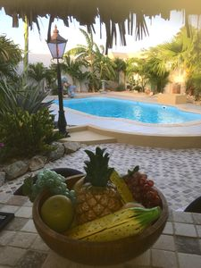 Photo for 🌴Tropical Fortuna Villa~90 sec to beach~own private Pool~privacy guaranteed!🌴