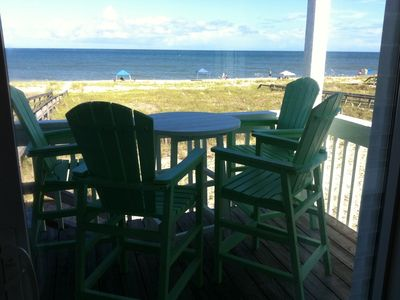 Photo for Beautifully Renovated Ocean Front Duplex