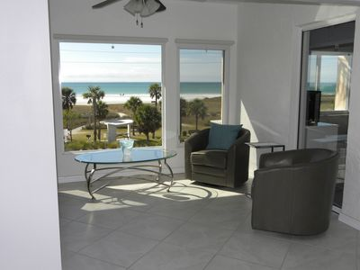 Photo for Breathtaking Full Gulf Views Steps From The White Sands Of Siesta Key Beach