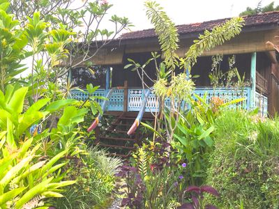 Photo for The Bijoux: exotic design, antique carved teak, rice field walks, far from roads