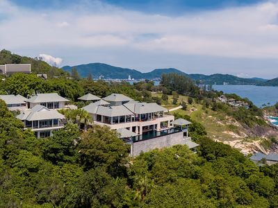 Photo for Baan Paa Talee Estate -  self-contained ocean villa