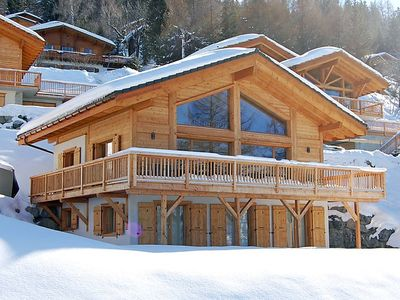 Photo for Vacation home Chalet Lawrence  in Nendaz, Valais - 8 persons, 4 bedrooms