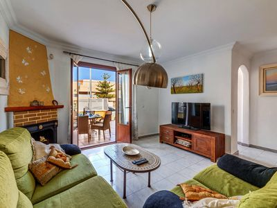 Photo for Central Holiday Home Casa Colonia de Sant Jordi with Rooftop Terrace, Wi-Fi & Air Conditioning; Small Pets Allowed