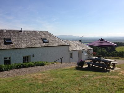 Kestrel & Buzzard self catering cottages and Merlin in between.