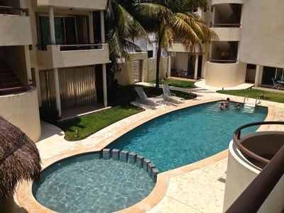 Photo for Apartment Two Bedroom, Playacar Ii