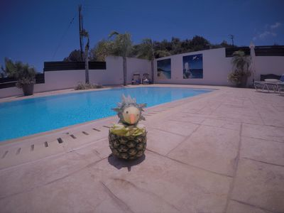 Photo for Family friendly villa - Private overflow pool, wifi & table tennis