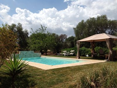 Photo for Villa with pool in Salento between two seas on 2.5ha fenced olive grove