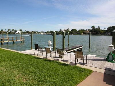 Photo for In the Heart of Treasure Island!  Located on waterway and 2 blocks from Beach!