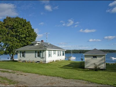 Photo for Your Windows To The Ocean, Lobstering Village, And Private Floating Dock!