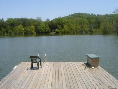 Photo for Majestic Lakefront Hideaway W/ Boat Ramp, Hot Tub, Boat Dock & Much More...