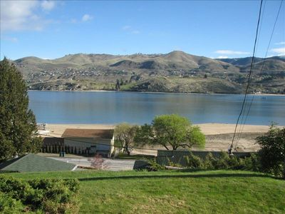Beautiful view of Lake Chelan from front porch