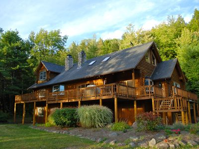 Photo for One Of A Kind Log Home Minutes To Windham And Hunter Mountains