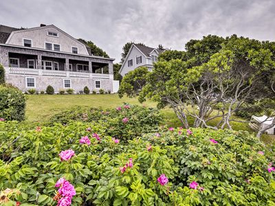 Photo for Oceanfront Cape Cod Home w/ Deck + Private Beach!