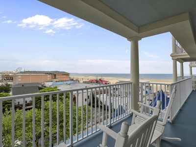 Photo for Belmont Towers 509 - Ocean Views, Boardwalk, Mini-Weeks, Sleeps 8!