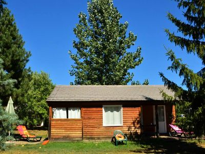 Photo for Camping Marmotel **** - mobile home 6 people - 6 places (between 0 and 5 years)