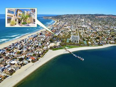 Perfect location between Mission Beach and Mission Bay, with A/C! ☀️