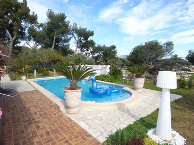 Photo for Rental villa swimming pool Ollioules