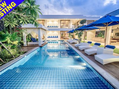 Photo for Freedom Villa Luxury 5 Bedroom, Feature Large Pool, Central Seminyak