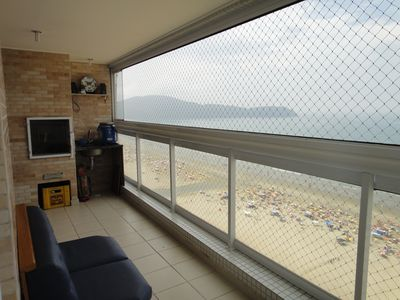Photo for Wonderful oceanfront apartment with gourmet balcony (high floor)