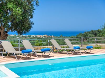 Photo for Blue Villa, Swimming Pool, Sea View