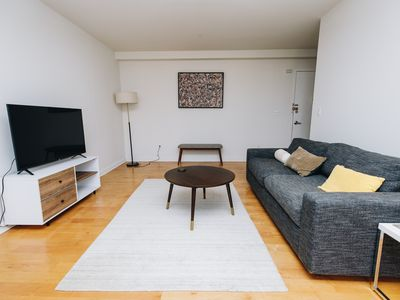 Photo for Quiet and renovated 2BR in elevator building