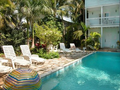 Photo for Gallup Arms- A traditional Key West town-home w/ shared pool and tropical garden