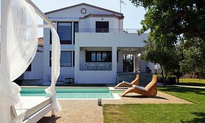 Photo for Holiday house Stalos for 1 - 9 persons with 5 bedrooms - Holiday house