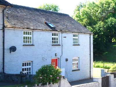 Photo for Stay on a working farm near Brecon at this self-contained first floor accommodation with views of pe