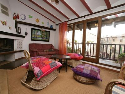Photo for Village apartment for 12-14 people, in the historic-medieval center