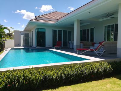 Photo for Very comfortable and spacious villa with pool near Hua-Hin, Thailand