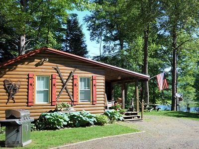 Photo for Looking for a charming, cozy, clean, cabin on the river? You just found it!
