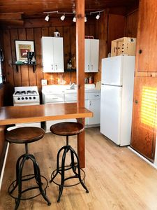 Photo for NEW! Available July!! Charming Breezy Ocean Beach Studio Cottage #7!!