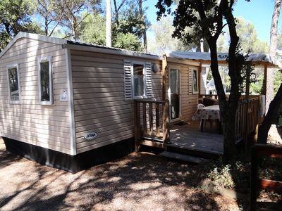Photo for Franthéor Fréjus Camping ***** - Superior Cottage 3 Rooms 4/6 People