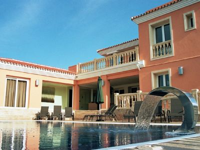 Photo for #Luxury 4 Bed Villa, Heated Pool, Cinema, Gym, Sauna, Squash Court