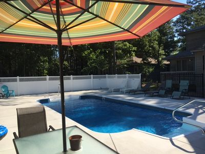 Photo for PRIVATE POOL! Great family home just outside of town - NO TAX! 412 Pond Acres