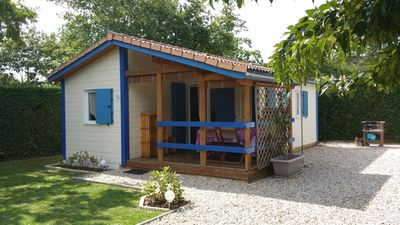 Photo for Comfortable chalet in the heart of the Bassin d'Arcachon