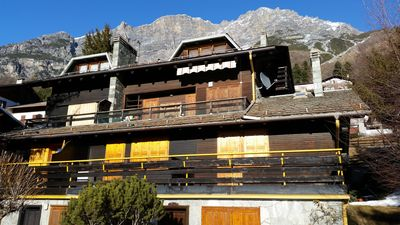 Photo for Studio 35 sqm in Bormio (Dos del Grillo). Typical chalet studio flat in Bormio