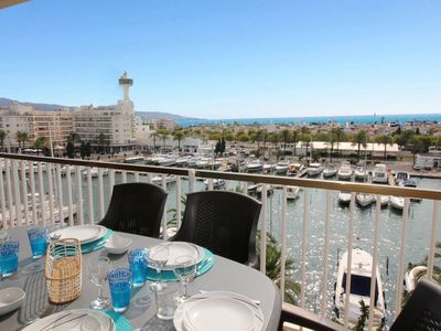 Photo for Duplex apartment with yachting harbour views in Empuriabrava.