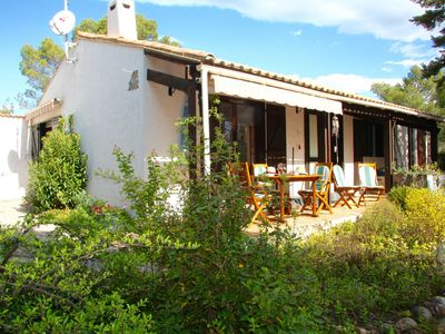 Photo for Delightful villa situated against a hill on a 13,000 square metre plot of land