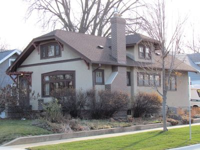 Photo for Cozy 1920's Arts and Crafts Bungalow - Walk to Downtown & Mayo Clinic