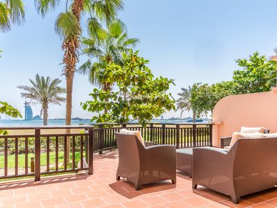 Photo for ★1BR 1.5BTH Apt for 2/Balcony/ Pool/Private Beach★