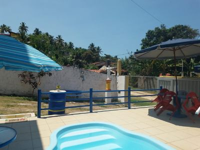 Photo for South coastal house Bahia, pool, barbecue, WiFi, 150 M from the beach, sleeps 15