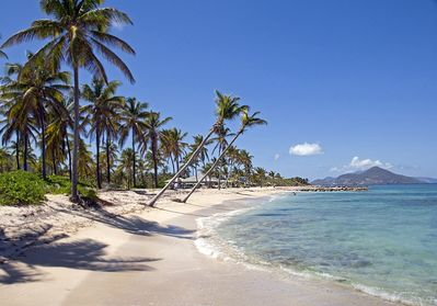 Our beach again west see St Kitts/Nisbet