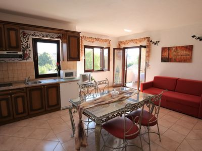 Photo for Villa Linet / Apartment comfort with 1 bedroom (2 adults)