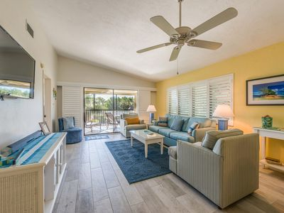 Photo for Sandpiper Beach 303, Quiet Complex with Spectacular Gulf View & 4 FREE Bikes