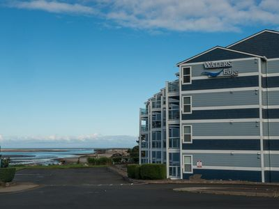 Photo for Experience Siletz Bay from this wonderful 3rd floor condo in Lincoln City!