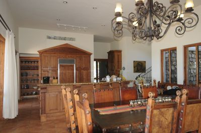 Kitchen and dinning area in great room wonderful decor